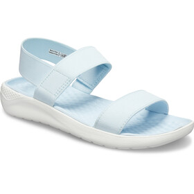 Crocs LiteRide Sandalen Dames, mineral blue/white